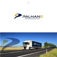 Palhano Transportes, Logo e Identidade, Logística, Entrega & Armazenamento