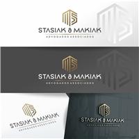 STASIAK & MAKIAK ADVOGADOS ASSOCIADOS, Logo e Identidade, Advocacia e Direito