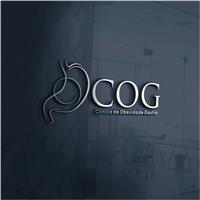 COG - Clínica de Obesidade Gastro, Logo e Identidade, Saúde & Nutrição