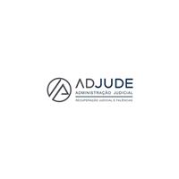 ADJUDE Administração Judicial - Recuperação Judicial e Falências, Logo e Identidade, Advocacia e Direito