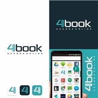 4book, Logo e Identidade, Tecnologia & Ciencias