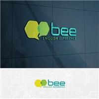 BEE ENGLISH EXPERIENCE, Logo e Identidade, Educação & Cursos