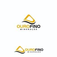 Ouro Fino Mineração, Logo e Identidade, Construção & Engenharia