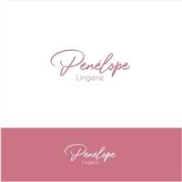 Penélope Lingerie, Logo e Identidade, Roupas, Jóias & acessórios