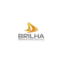 Brilha Marketing Digital, Logo e Identidade, Marketing & Comunicação