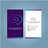 Alice Andrade Takeuti, Logo e Identidade, Saúde & Nutrição