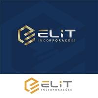 Elit Incorporação LTDA, Logo e Identidade, Construção & Engenharia
