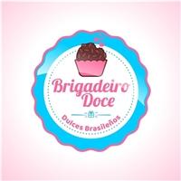Brigadeiro Doce (Dulces Brasileños), Logo e Identidade, Alimentos & Bebidas
