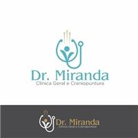 Dr. Miranda Clínica Geral e Craniopuntura, Logo e Identidade, Saúde & Nutrição