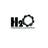 H2O Engenharia Sustentável, Logo e Identidade, Construção & Engenharia