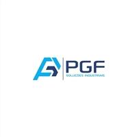PGF Soluções Industriais, Logo e Identidade, Construção & Engenharia