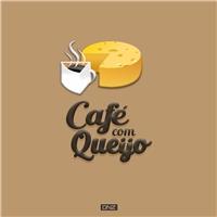 Café com queijo, Logo e Identidade, Alimentos & Bebidas