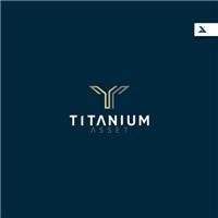 Titanium Asset, Logo e Identidade, Tecnologia & Ciencias