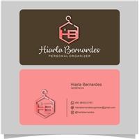 Hiarla Bernardes - Personal Organizer, Logo e Identidade, Limpeza & Serviço para o lar