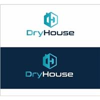 Dry House ou DryHouse, Logo e Identidade, Construção & Engenharia