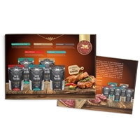 Sal para Churrasco *Panfleto*, Peças Gráficas e Publicidade, Alimentos & Bebidas