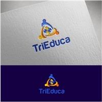 TriEduca, Logo e Identidade, Crianças & Infantil