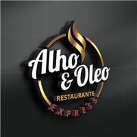 ALHO & ÓLEO RESTAURANTE EXPRESS, Logo e Identidade, Alimentos & Bebidas