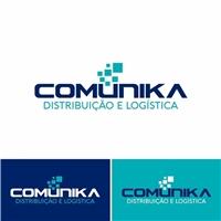 COMUNIKA DISTRIBUICAO E LOGISTICA, Logo e Identidade, Logística, Entrega & Armazenamento