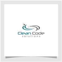 Clean Code Solutions, Logo e Identidade, Tecnologia & Ciencias