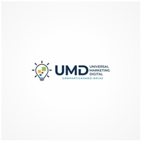 UMD Universal Marketing Digital. Slogan (Compartilhando Idéias), Logo e Identidade, Marketing & Comunicação