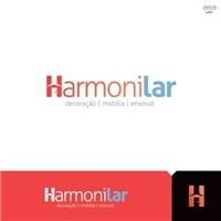 Harmonilar, Logo e Identidade, Decoração & Mobília