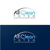 All Clean Totem , Logo e Identidade, Marketing & Comunicação