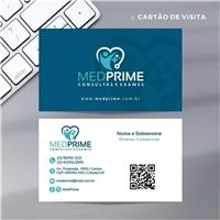 MEDPRIME Consultas e Exames, Logo e Identidade, Saúde & Nutrição