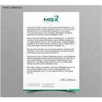 MGX diagnósticos, Logo e Identidade, Saúde & Nutrição