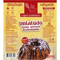 E AGORA CONFEITEIRO / SPRAY DESMOLDANTE UNTATUDO, Embalagens de produtos, Alimentos & Bebidas
