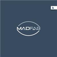 MAD FAB, Logo e Identidade, Alimentos & Bebidas