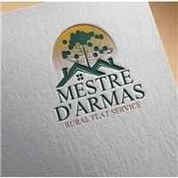 MESTRE D'ARMAS   subtitulo: rural flat service, Logo e Identidade, Viagens & Lazer