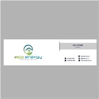 Eco Energy Tecnologia, Logo e Identidade, Construção & Engenharia