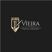 Vieira. Advocacia e Consultoria em Compliance Empresarial , Logo e Identidade, Advocacia e Direito