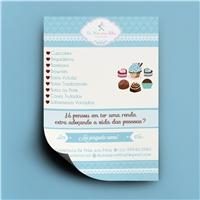 Confeitaria de Mãe pra Filha, Peças Gráficas e Publicidade, Alimentos & Bebidas