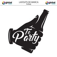To Party, Logo e Identidade, Planejamento de Eventos