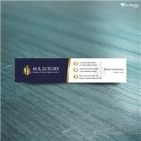 M.R LUXRY CONSUTORIA IMOBILIARIA, Logo e Identidade, Imóveis