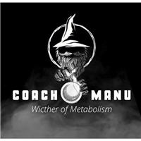 COACH MANU, Logo e Identidade, Saúde & Nutrição