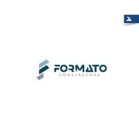 Formato Construtora, Logo e Identidade, Construção & Engenharia