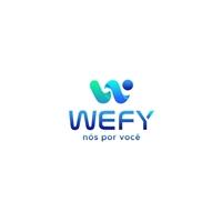 Wefy (Wefy = We For You = Nós por você), Logo e Identidade, Marketing & Comunicação