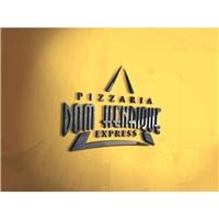 Pizzaria Dom Henrique Express, Logo e Identidade, Alimentos & Bebidas