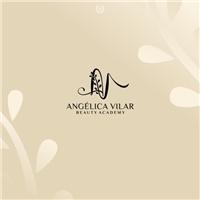 Angélica Vilar Beauty Academy, Logo e Identidade, Beleza