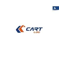 Cart Log, Logo e Identidade, Logística, Entrega & Armazenamento
