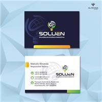 Soluen ( Soluções em Eficiência Energética e Solar), Logo e Identidade, Construção & Engenharia