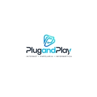 PLUG AND PLAY, Logo e Identidade, Computador & Internet