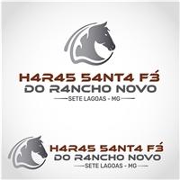 H4R4S 54NT4 F3 d0 R4NCH0 N0V0, Logo e Identidade, Animais