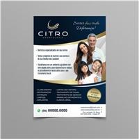 CITRO Centro Integrado de Tratamento Oral, Peças Gráficas e Publicidade, Odonto