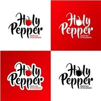 Holy Pepper -, Logo e Identidade, Alimentos & Bebidas
