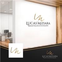 LUCAS MIZIARA - ODONTOLOGIA AVANÇADA, Logo e Identidade, Odonto