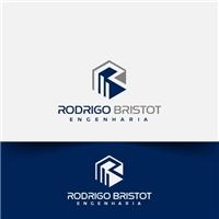rodrigo bristot engenharia, Logo e Identidade, Construção & Engenharia